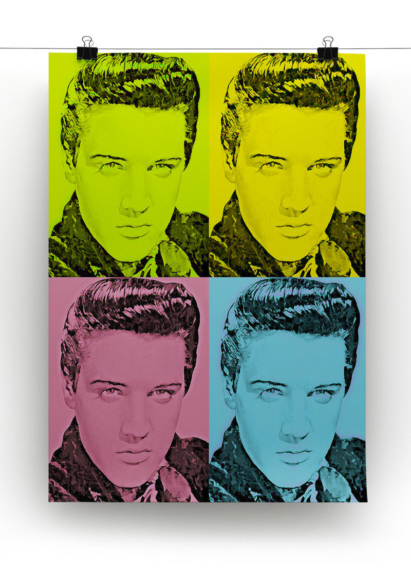 Elivs Presley Print - Canvas Art Rocks - 2