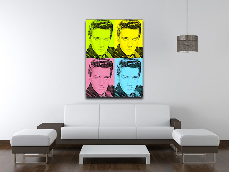 Elivs Presley Print - Canvas Art Rocks - 4