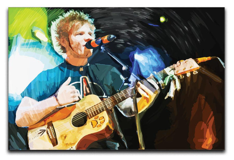 Ed Sheeran Print - Canvas Art Rocks - 1