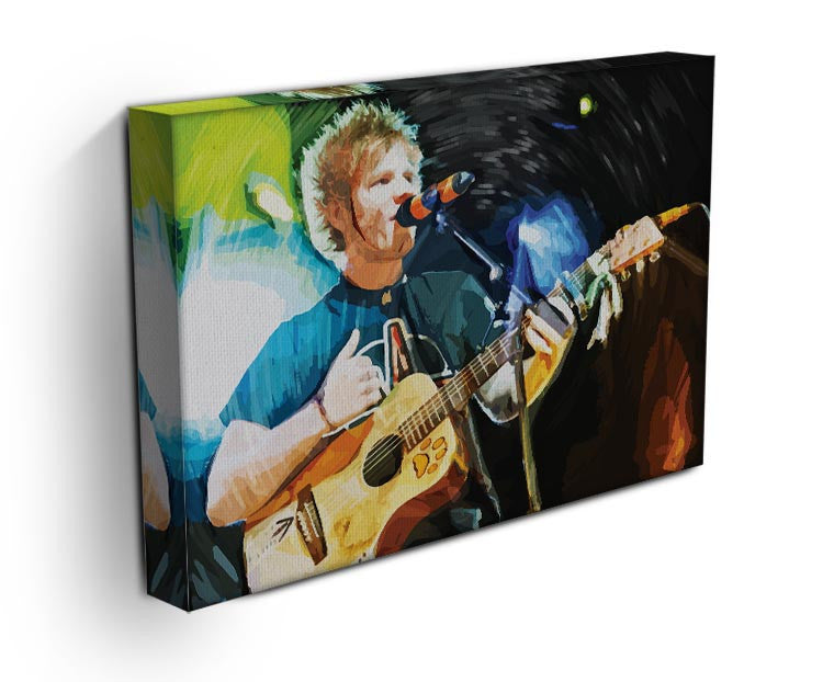 Ed Sheeran Print - Canvas Art Rocks - 3
