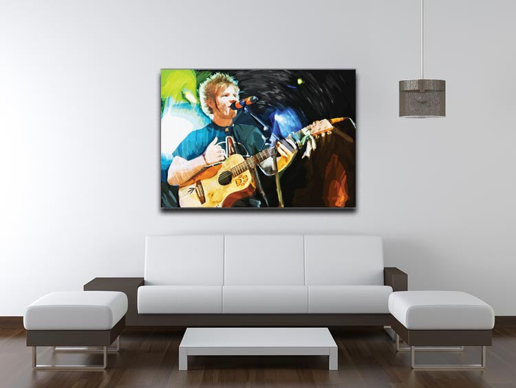 Ed Sheeran Print - Canvas Art Rocks - 4
