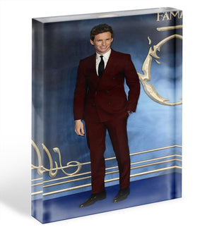 Eddie Redmayne Fantastic Beasts Acrylic Block - Canvas Art Rocks - 1