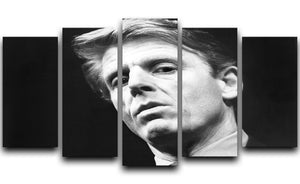 Edward Fox 5 Split Panel Canvas  - Canvas Art Rocks - 1