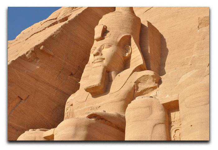 Egypt Sculpture Canvas Print or Poster