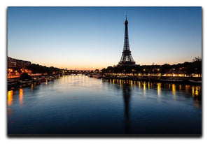 Eiffel Tower and d Canvas Print or Poster  - Canvas Art Rocks - 1