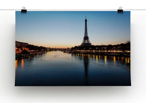 Eiffel Tower and d Canvas Print or Poster - Canvas Art Rocks - 2