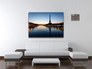Eiffel Tower and d Canvas Print or Poster - Canvas Art Rocks - 4