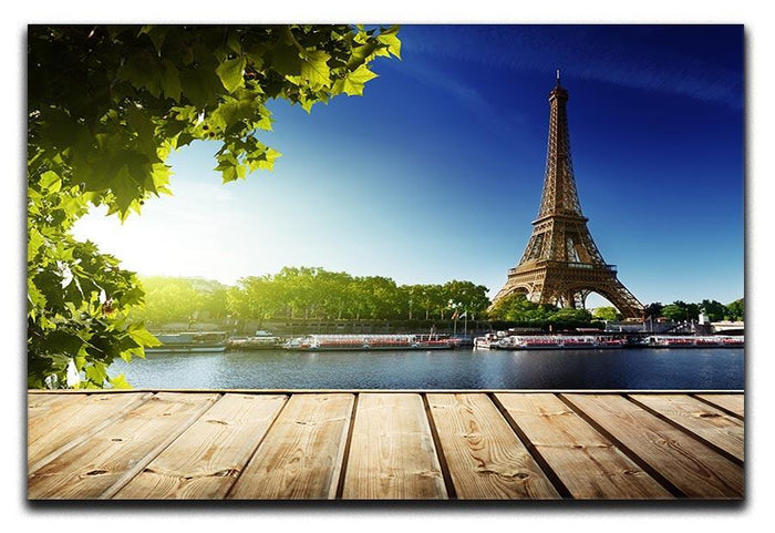 Eiffel tower in Paris Canvas Print or Poster