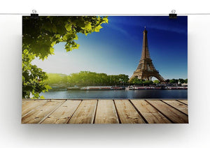 Eiffel tower in Paris Canvas Print or Poster - Canvas Art Rocks - 2