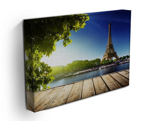 Eiffel tower in Paris Canvas Print or Poster - Canvas Art Rocks - 3