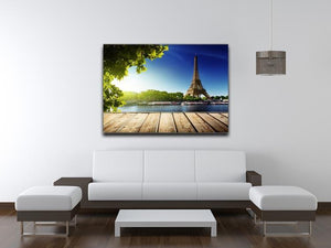 Eiffel tower in Paris Canvas Print or Poster - Canvas Art Rocks - 4
