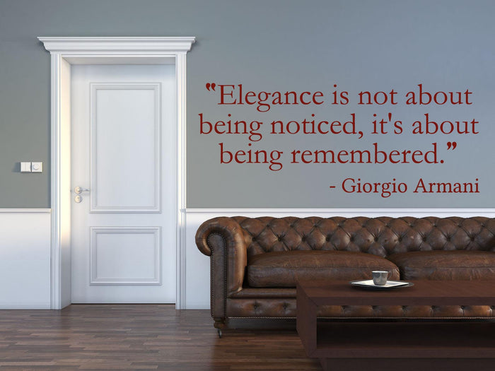 Elegance Wall Sticker