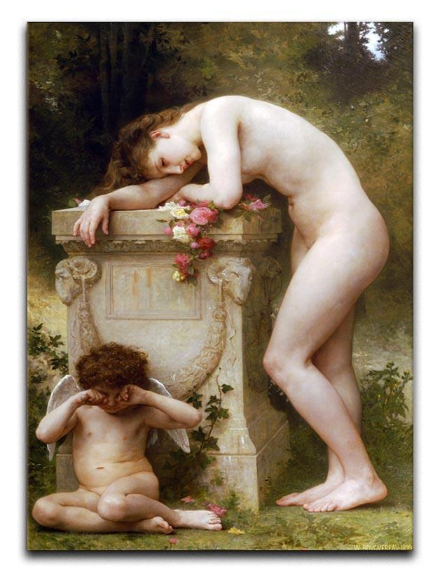 Elegy By Bouguereau Canvas Print or Poster  - Canvas Art Rocks - 1