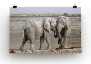 Elephant Print - Canvas Art Rocks - 2