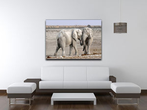 Elephant Print - Canvas Art Rocks - 4