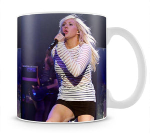 Ellie Goulding on stage Mug - Canvas Art Rocks - 1