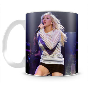 Ellie Goulding on stage Mug - Canvas Art Rocks - 2
