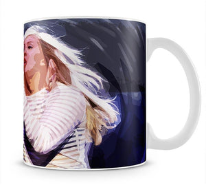 Ellie Goulding on stage Pop Art Mug - Canvas Art Rocks - 1