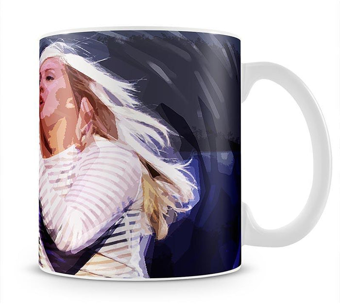 Ellie Goulding on stage Pop Art Mug
