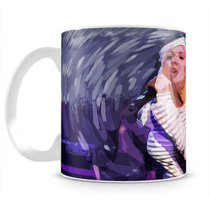 Ellie Goulding on stage Pop Art Mug - Canvas Art Rocks - 2