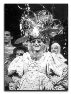 Elton John as a panto dame Canvas Print or Poster - Canvas Art Rocks - 1