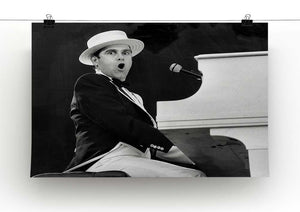 Elton John at the piano Canvas Print or Poster - Canvas Art Rocks - 2