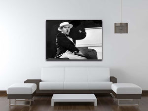 Elton John at the piano Canvas Print or Poster - Canvas Art Rocks - 4