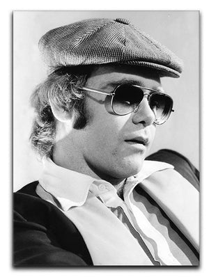 Elton John in 1977 Canvas Print or Poster  - Canvas Art Rocks - 1