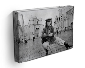 Elton John in Red Square Canvas Print or Poster - Canvas Art Rocks - 3