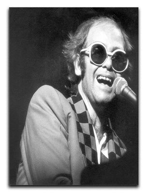 Elton John in concert 1977 Canvas Print or Poster - Canvas Art Rocks - 1