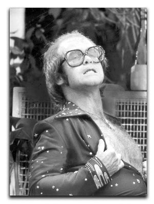 Elton John onstage 1975 Canvas Print or Poster - Canvas Art Rocks - 1