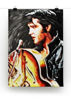 Elvis Presley Comeback Special Print - Canvas Art Rocks - 2