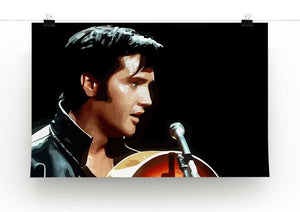 Elvis Presley Comeback Special Print - Alternative - Canvas Art Rocks - 2