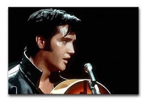 Elvis Presley Comeback Special Print - Alternative - Canvas Art Rocks - 1