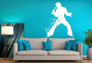 Elvis Presley Wall Decal - Canvas Art Rocks