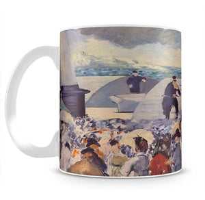 Embarkation of the Folkestone by Manet Mug - Canvas Art Rocks - 2