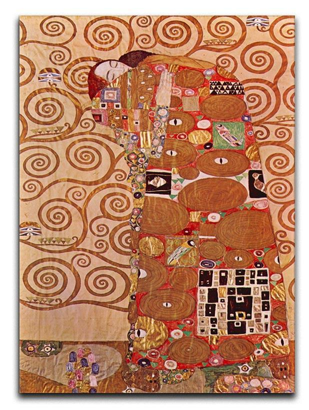 Embrace by Klimt Canvas Print or Poster  - Canvas Art Rocks - 1