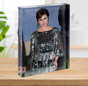 Emily Mortimer Acrylic Block - Canvas Art Rocks - 2