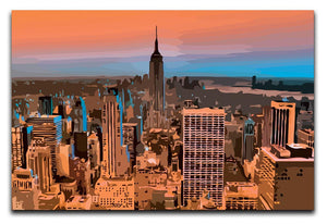 Empire State Building Print - Canvas Art Rocks - 1