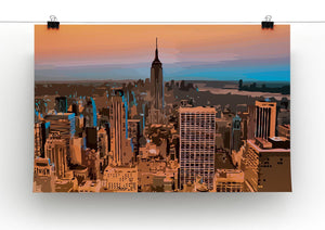 Empire State Building Print - Canvas Art Rocks - 2
