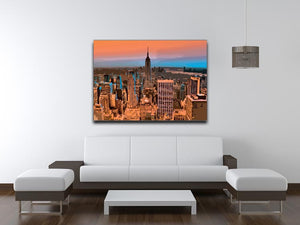 Empire State Building Print - Canvas Art Rocks - 4