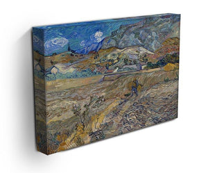 Enclosed Field with Peasant Canvas Print & Poster - Canvas Art Rocks - 3