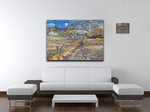 Enclosed Field with Peasant Canvas Print & Poster - Canvas Art Rocks - 4