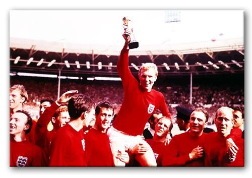 England World Cup 1966 Print - Canvas Art Rocks - 1
