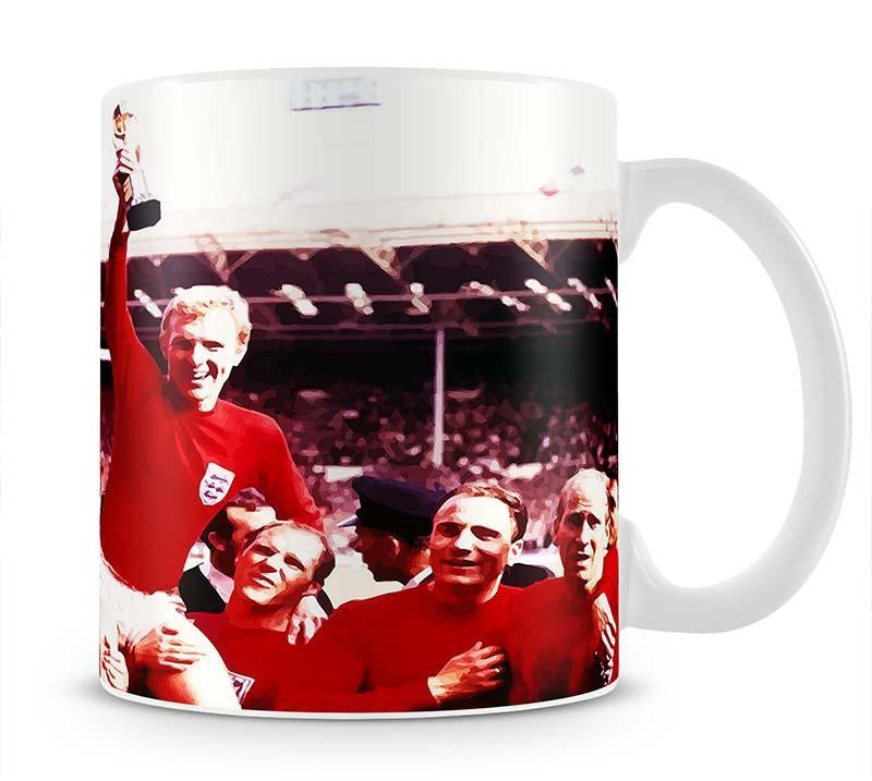 England World Cup 1966 Cup - Canvas Art Rocks - 1