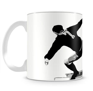 Eric Cantona Kick Mug - Canvas Art Rocks - 2