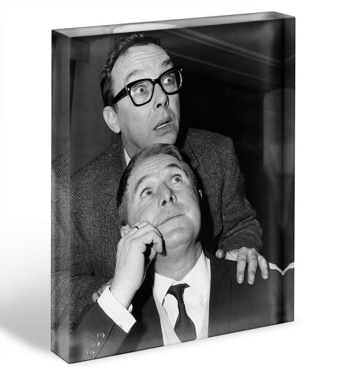 Eric and Ernie in the 1960s Acrylic Block
