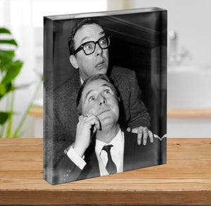 Eric and Ernie in the 1960s Acrylic Block - Canvas Art Rocks - 2