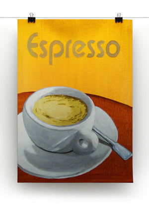 Espresso Coffee Cup Print - Canvas Art Rocks - 2