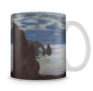 Etretat by Monet Mug - Canvas Art Rocks - 4